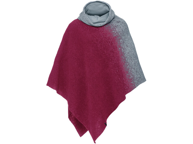VAUDE Västeras Poncho Damen passion fruit